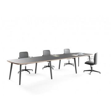 Mesa de Reunião Timber